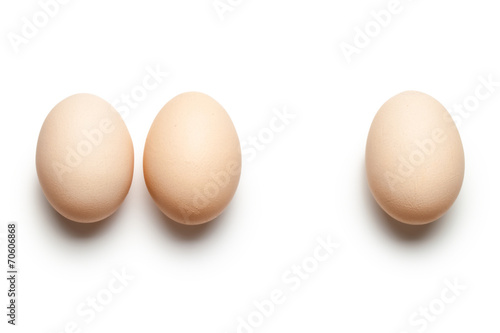 Foto op Canvas Egg Eggs