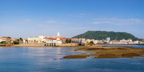 Panama City view old casco viejo antiguo