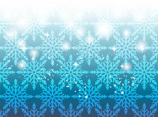 背景雪結晶