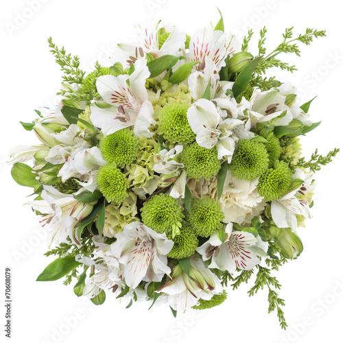 Foto op Plexiglas Hydrangea wedding bouquet