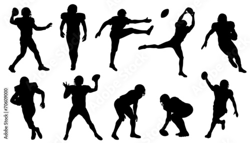 football silhouettes - 70609000
