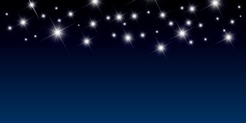 night vector background