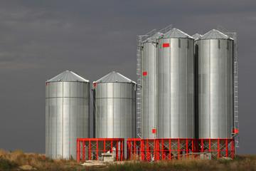 silver silos