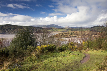 View Towards Kippford from Mote of Mark