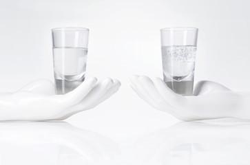 Acqua naturale VS acqua minerale