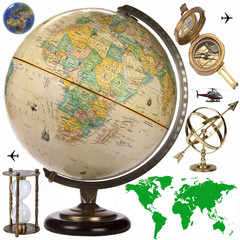 Globe - Travel Obects - Cutout