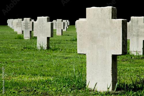 Croci al cimitero militare - 70611217