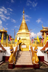 Gold pagoda 2