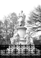 Goethe monument in Berlin, Germany