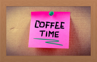 Coffee Time Concept