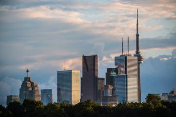 Toronto Skyline No Logos