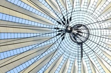 Modern architecture in Postdamer Platz in Berlin