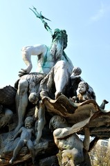 Neptun's fountain in Berlin, Germany