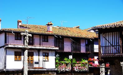 medieval town of La Alberca; Salamanca, Spain.