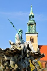 Neptun statue