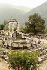 Ancient Greek Temple and Tholos