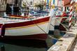 Barques colorée