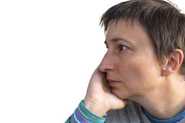 Depresion woman