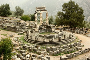 Delphi, Sanctuary of Athena Pronaia