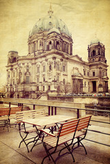 Vintage Berlin Cathedral Church