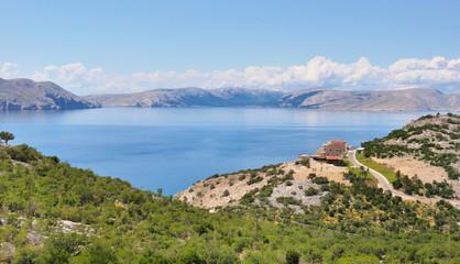 paysage de Croatie