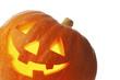 canvas print picture - Jack O Lantern halloween pumpkin