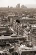 Vienna - sepia tone monochrome image