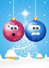 funny Christmas ball