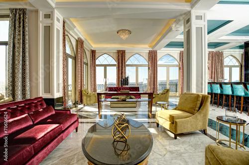 Luksusowy hol na pięciogwiazdkowy hotel