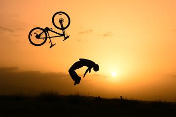 bisikletten uçmak