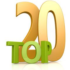 Top 20 word