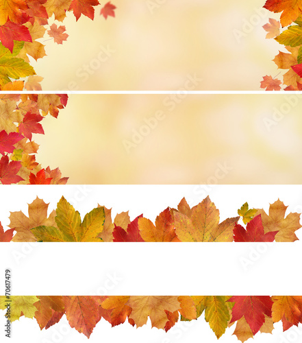 canvas print picture Herbstlicher MIX