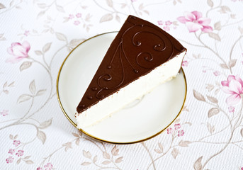 Delicious souffle cake