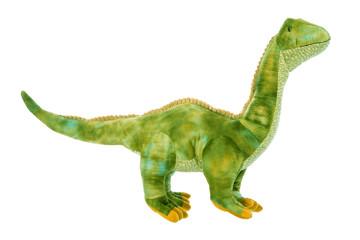 Grüner Drache oder Dinosaurier Freisteller