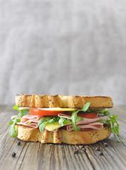 Gourmet sandwich