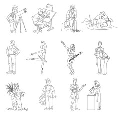 profession, people, man vector