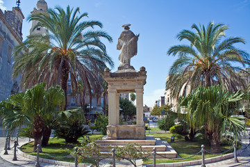 Cavallino (Lecce), Piazza Castromediano - Puglia, Italy