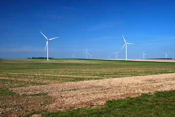 Groupe d'éoliennes