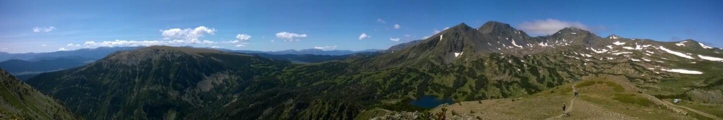 Montagne Panorama Pyrénée Neige
