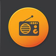 Radio button,clean vector