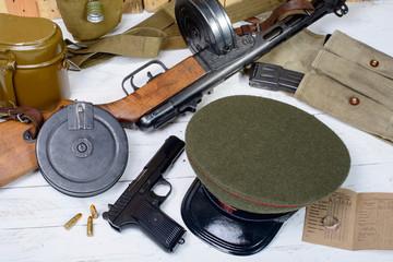 equipment of the Soviet soldier during World War II