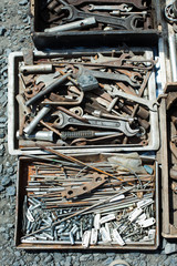 tools used at a flea market