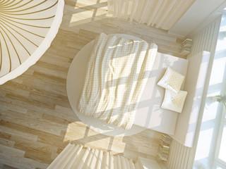 schlafzimmer von oben