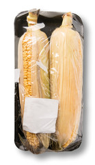 Corn in packing