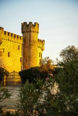 Castle at Aguijuelas, Caceres, Estremadura, Spain