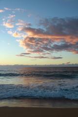 Kauai Coast Sunset at Beach