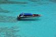 Leinwanddruck Bild - Speed boat at Similan Island