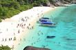 Leinwanddruck Bild - Tropical beach Andaman Sea Thailand