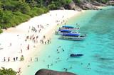 Fototapety Tropical beach Andaman Sea Thailand