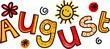 August Clip Art - 70629616